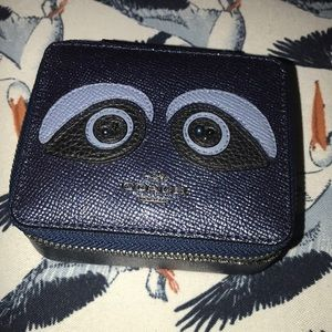 New Coach Jewelry Leather Box Bear 🐻 Face Design
